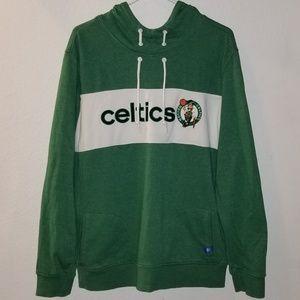 Adidas Boston Celtics Pull-Over Hoodie Sweater